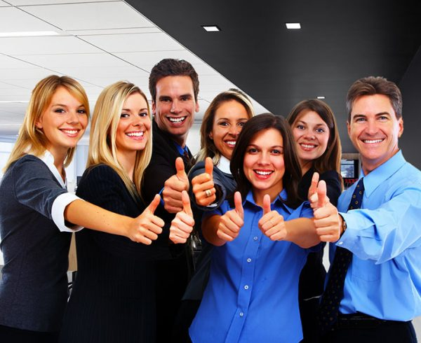 Good Netiquette featured image of a group of smiling people.